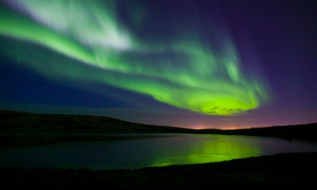 Northern Lights were seen at the Lake District