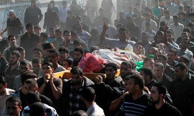 Jaabari funeral