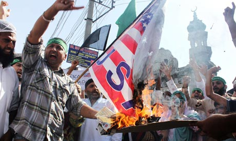 Anti-US protest in Jammu