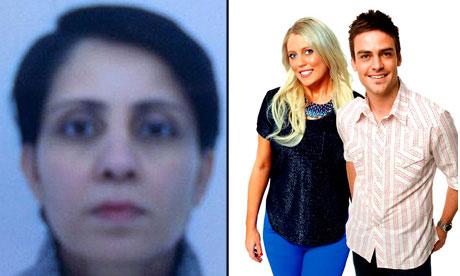 Nurse Jacintha Saldanha and DJs composite