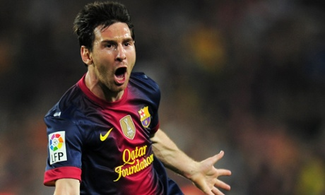 Os 100 melhores jogadores do mundo em 2012 de acordo com jornal inglês (1/6)