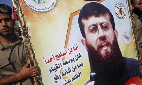 Khader Adnan protest
