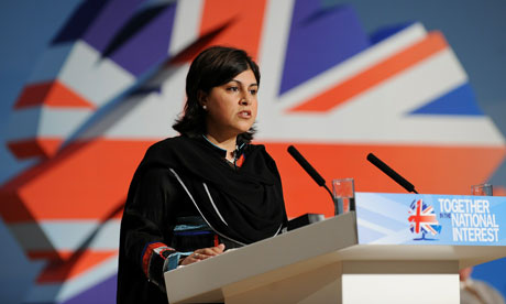 Lady Warsi on 'militant secularisation'