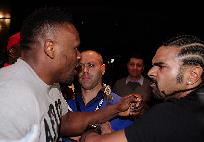 chisora v haye: fight