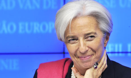 Lagarde at EU press conference