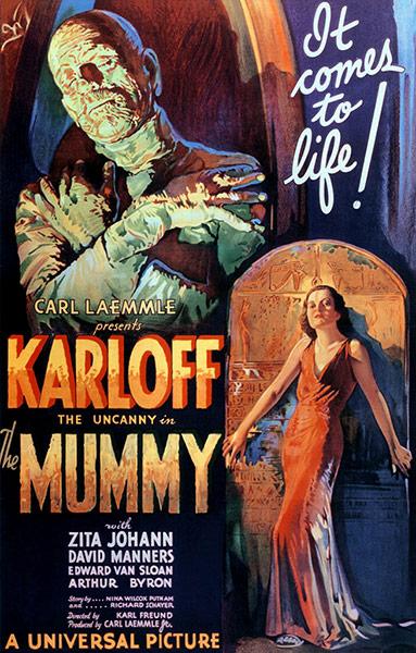 Top Selling Film Posters: Top Selling Film Posters - The Mummy, 1932