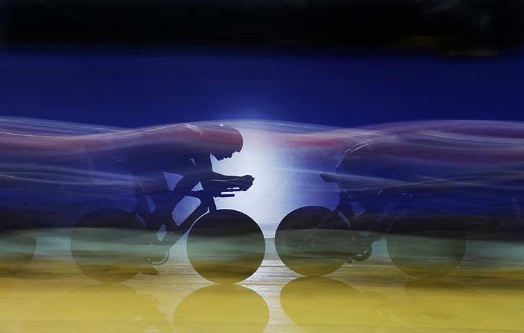 TJ SJA: GB mens team pursuit at the Track cycling world cup