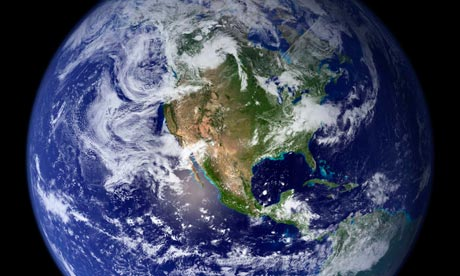Nasa image of planet Earth