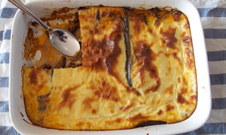 Felicity's perfect moussaka