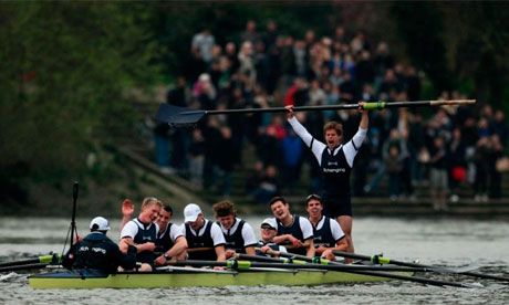 Oxford vs Cambridge boat race 2011