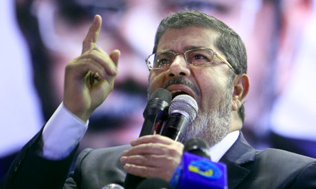 Embattled Egyptian tyrant Mohamed Morsi
