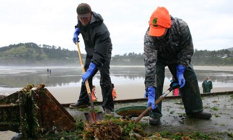 Oregon tsunami debris
