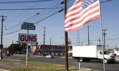 Gun shop in Texas