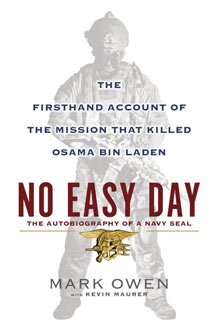 No Easy Day cover.