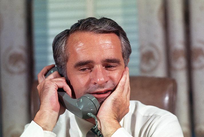 10 best: Thomas Eagleton Talking on the Telephone