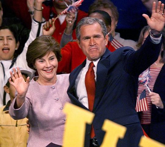 10 best: GW Bush v Al Gore