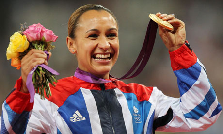 Jessica Ennis Gold Medal