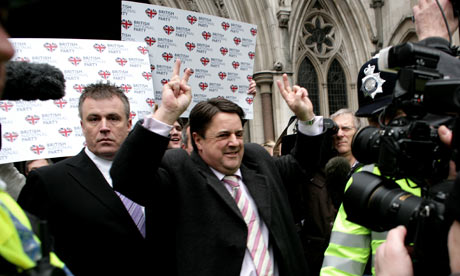 BNP leader Nick Griffin. His party has developed one of the most popular political websites in the UK.