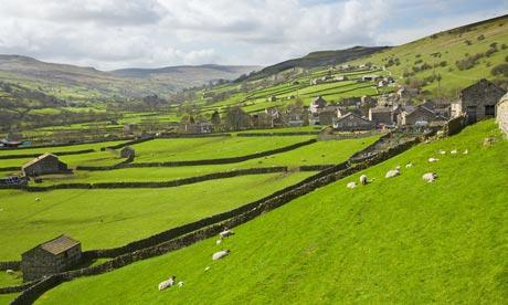 Gunnerside village Swaledale Yorkshire Dales