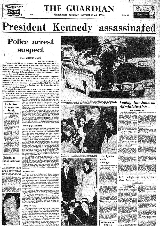 22 Friday November 1963