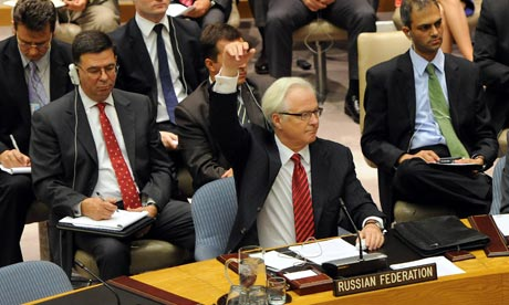 UN security council Syria vote in New York