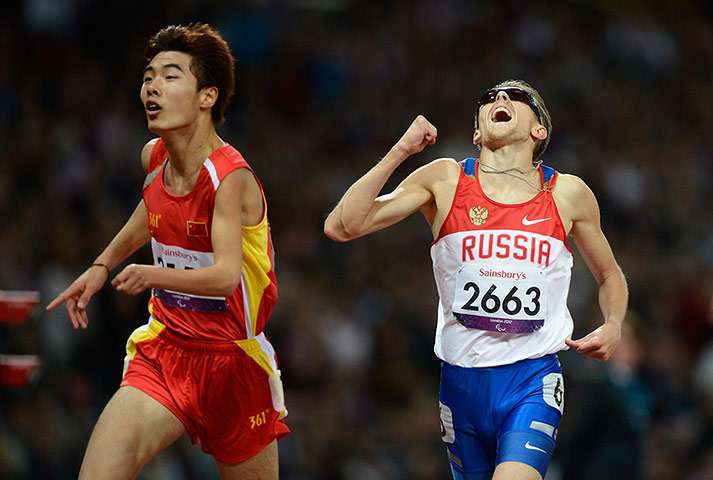 athletics: Russia's Roman Kapranov wins gold