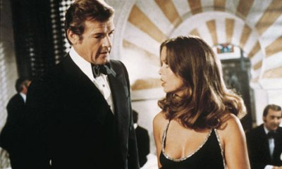 Roger Moore and Barbara Bach were awkward allies in The Spy Who Loved Me