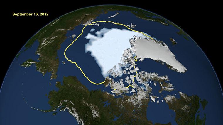 Satellite Eye: Arctic Sea Ice