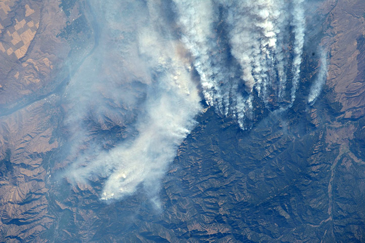 Satellite Eye: The Mustang Complex wildland fires in Idaho