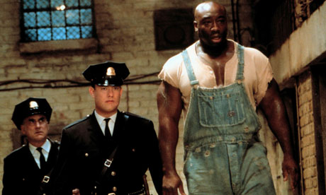 Michael Clarke Duncan, right