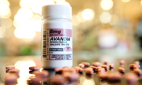 Avandia pill bottle