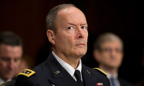 NSA director Gen Keith Alexander.