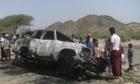 Drone strike Yemeni province of Lahj