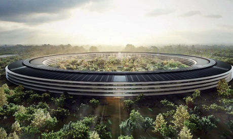 The doughnut has landed … The Apple Campus 2 'pushes the boundaries of technology in almost every aspect'.