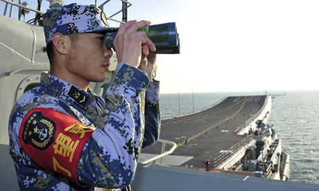 China's Liaoning aircraft carrier