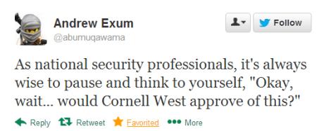 exum tweet