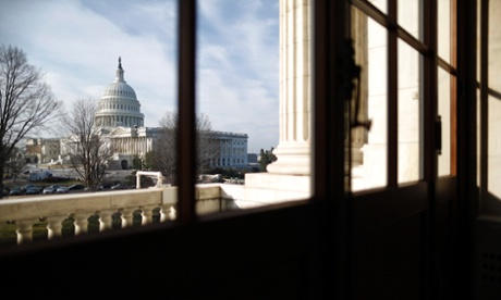 A general view of the U.S. Capitol is seen from the Russell Senate Office Building in Washington, February 25, 2013. Pressure is mounting on Congress and the White House to find a way to avoid a package of $85 billion in across-the-board-spending cuts, known as the