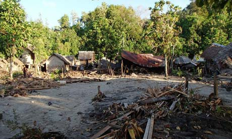Tsunami damage Solomon Islands, Temotu, Jim Caldwell, Tsunami February 2013, Tsunami South Pacific Islands 2013, Redondo Beach