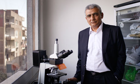 Professor Ali Mohamed Zaki, Corona Virus Doctor