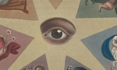 Detail from image symbolising Optics