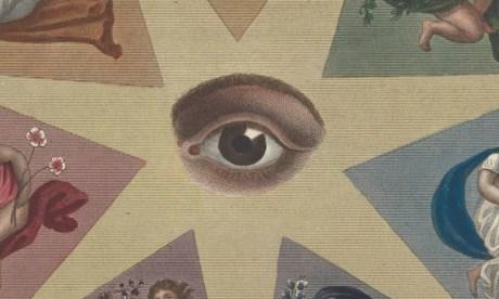 Detail from image symbolising Optics
