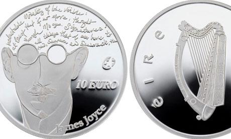 James Joyce commemorative coin