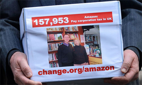 Visit change.org/amazon to learn more about the Smiths' petition - peoplewhowrite