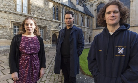 Aboriginal Australian students at Oxford