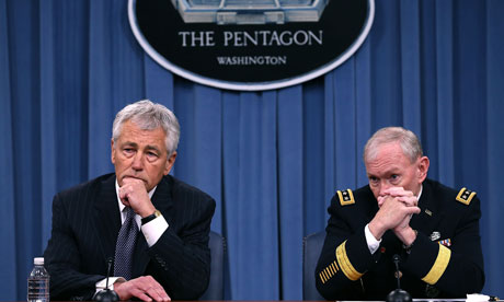 Hagel And Dempsey