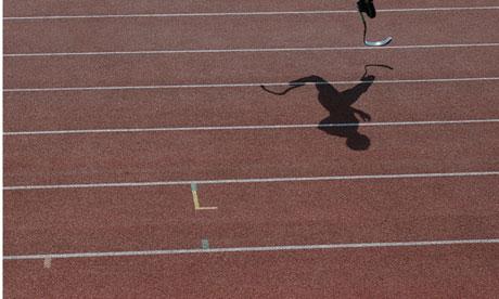 Oscar Pistorius's shadow cast on the track