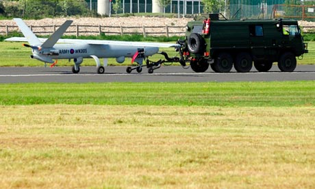 The Ministry of Defence has been testing the new Watchkeeper drone