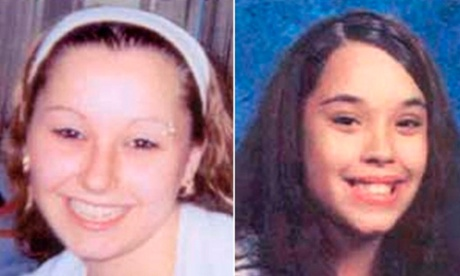 Amanda Berry and Georgina Dejesus are pictured in this combination photograph in undated handout photos released by the FBI.