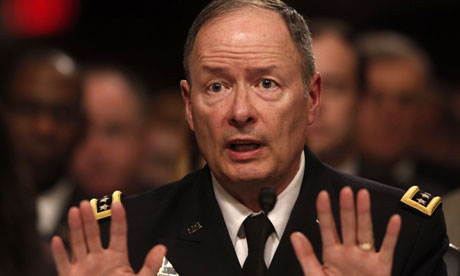 National Security Agency chief Keith Alexander