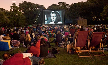 This summers outdoor cinema  Film  The Guardian